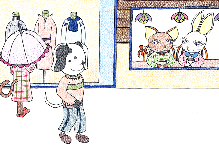 絵本挿し絵コースアートスクール通信講座通信教育で漫画イラスト